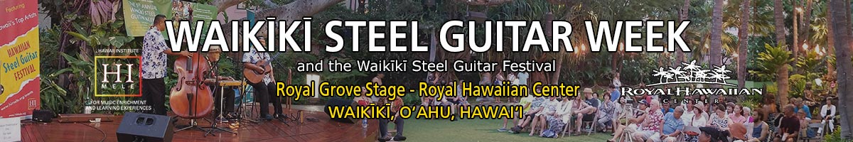 Waikīkī Steel Guitar Week